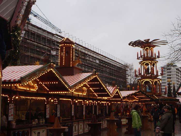 Новогодние базары в Берлине