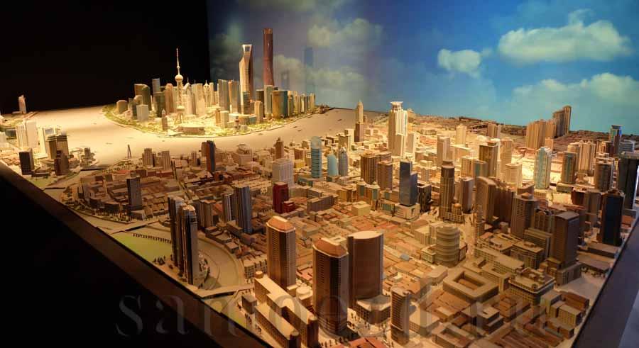 макет Шанхая в SWFC